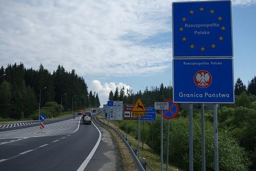 ポーランド入国