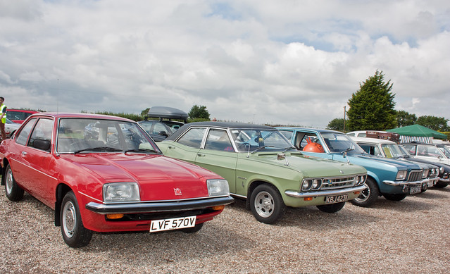 1980 Vauxhall Cavalier 1600 L Mk1 - 1971 Vauxhall Ventora FD 3.3 & 1972 Vauxhall Victor 1800 FE