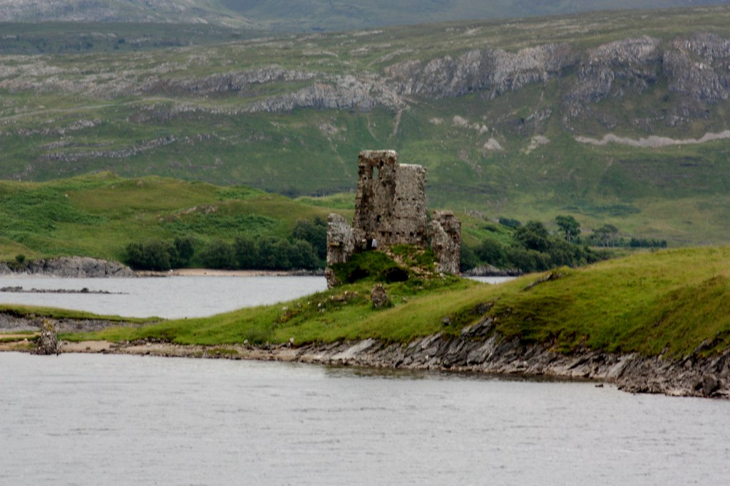 Highlands Abandoned castle