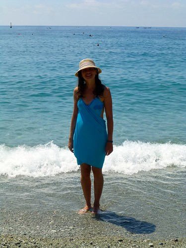 At Monterosso beach