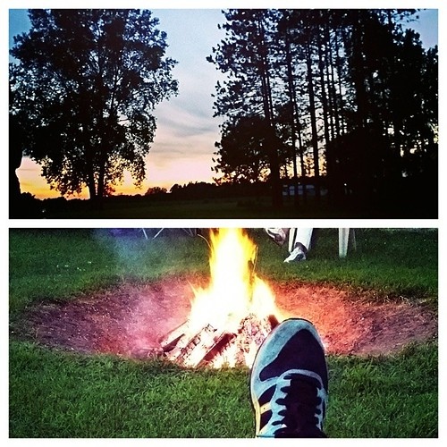 Such a nice, relaxing day! Waiting for fireworks now :) 4thofjuly #nicebirthday #yay #firepit #Moldiv
