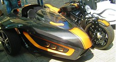 automobile, vehicle, motorcycle, sidecar, land vehicle,