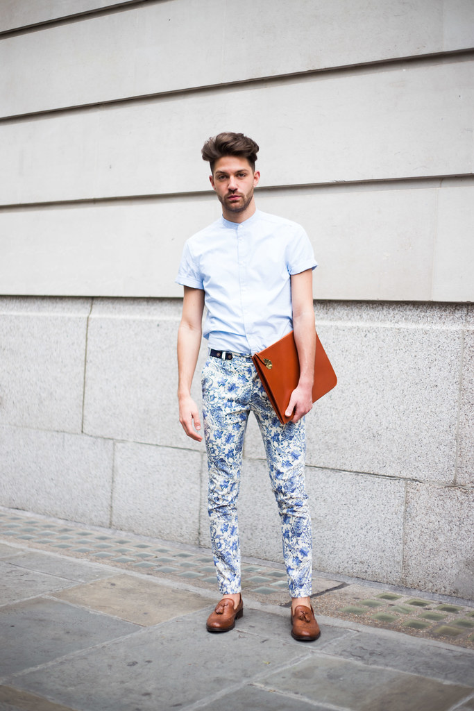 Street Style - Angelo Mitakos, London Collections: Men