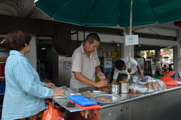 Popiah Uncle @ Lucky Gardens