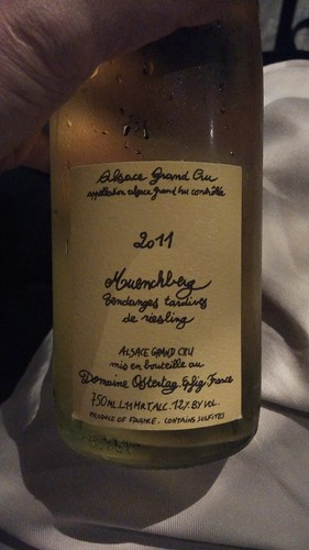 Domaine Ostertag 2011 Muenchberg Vendanges Tardives de Riesling