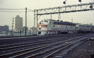 19671200 05 CB&Q California Zephyr @ Aurora, IL