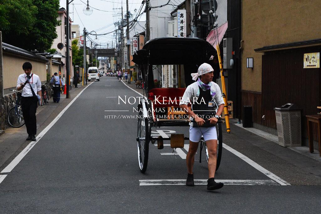 Backpacker Ciput Main Redah di Jepun 11 Membeli belah Fesyen Jalanan dan Dua Sungai di Arashiyama