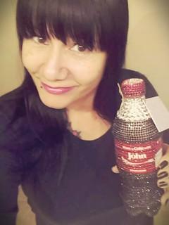 "Sharing a coke with ""John"" Lloyd Young by #JoanaAcevedoOcasio"
