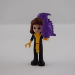 LEGO Super Friends Project Day 9 - Kitty Pryde with Lockheed