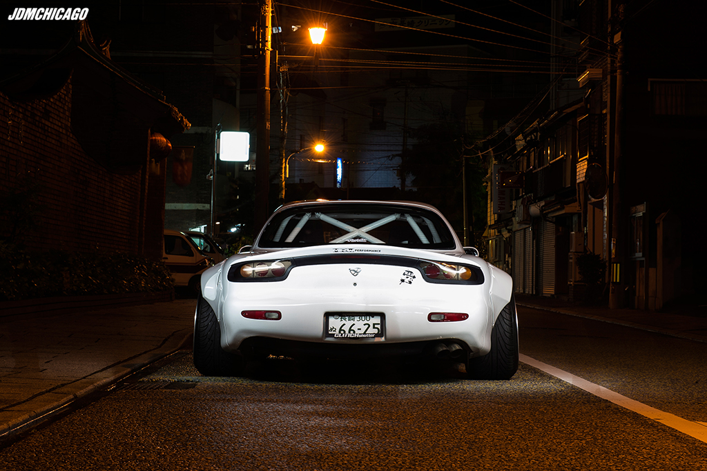 Hiroto Kusumoto S Rocket Bunny Rx 7 Fd3s