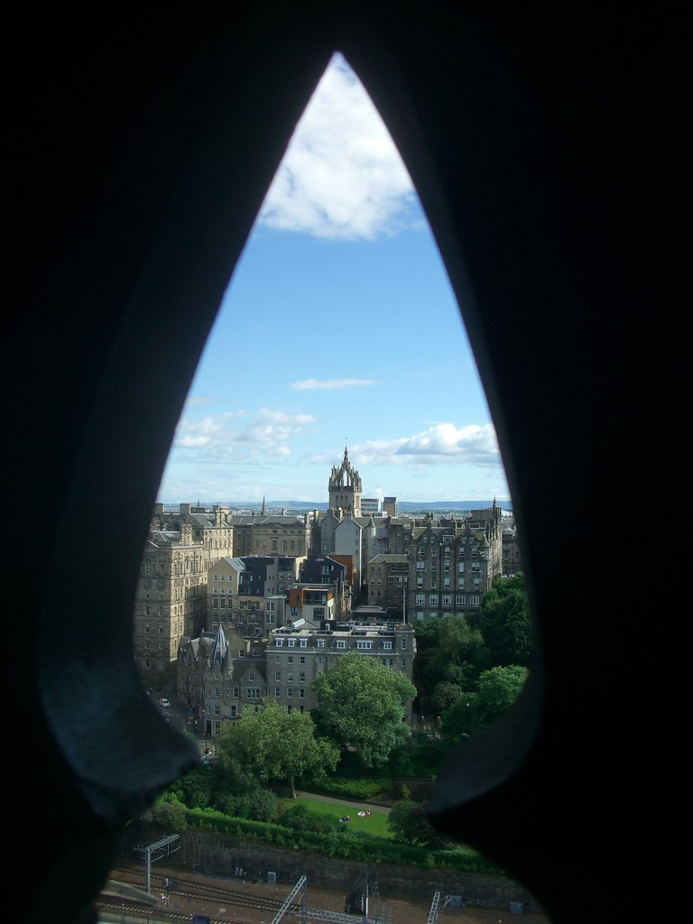 Edinburgh View from the Scott Monument