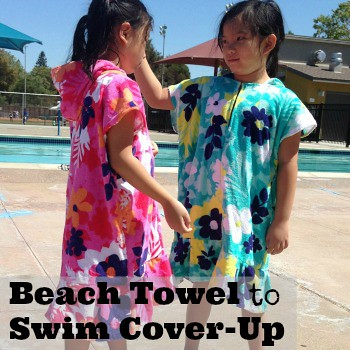 Beach Towel to Swim Cover-Up