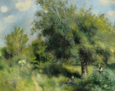 ルノワール《イギリス種のナシの木》