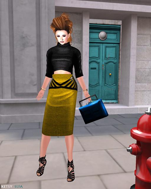 Hair Fair - Alien Reign (New Post @ Second Life Fashion Addict)