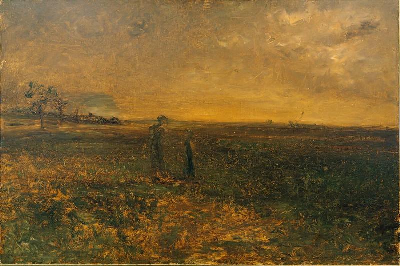 George Fuller - Twilight on the Prairie