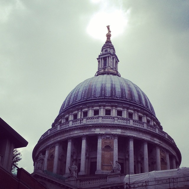 12:30pm - last week at Bart's so last week of St Paul's pictures. This one is for @runnergmcc who thinks I haven't taken enough! #stpauls  #london #work #studentnurse