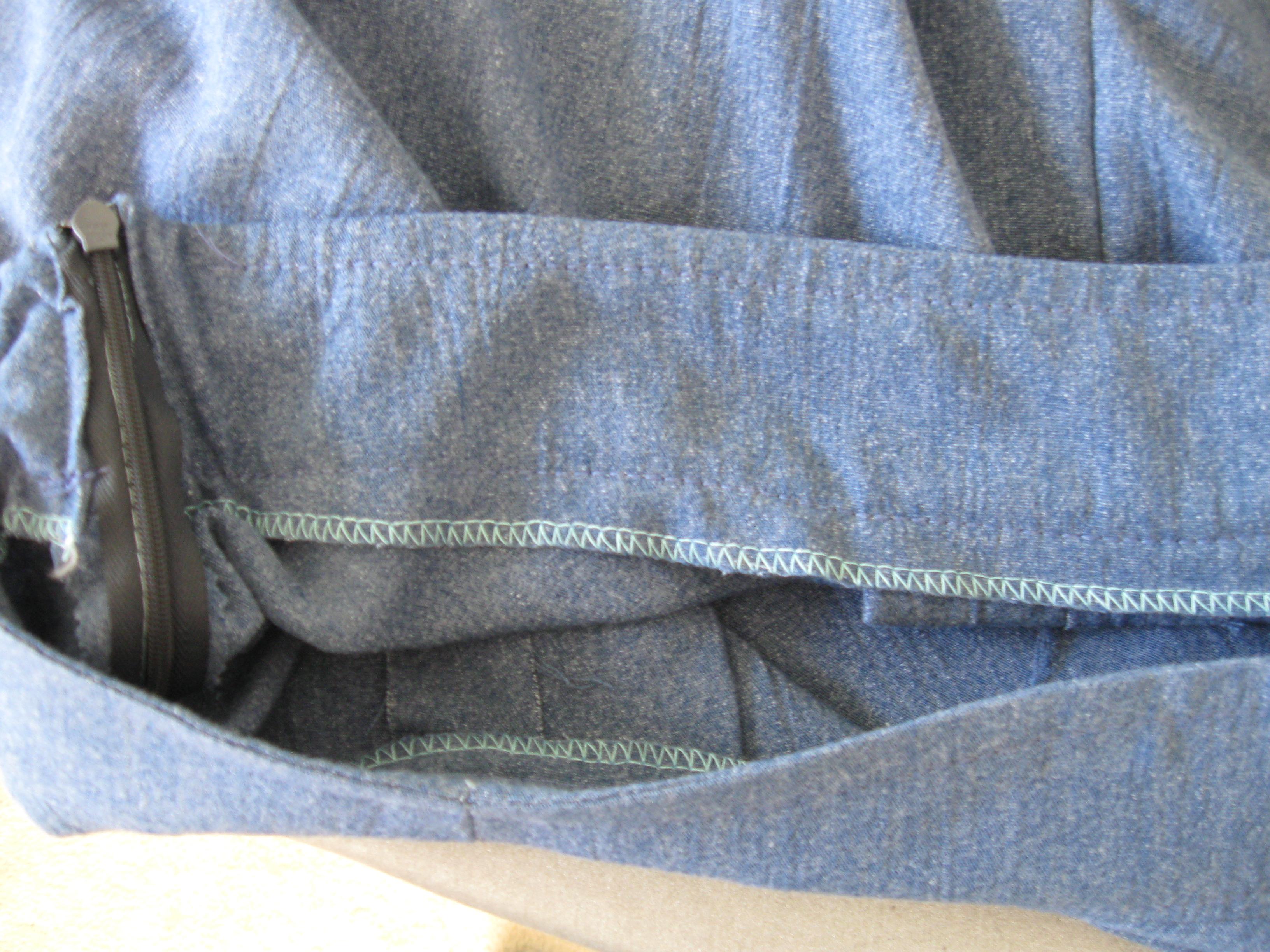 culotte waistband inside