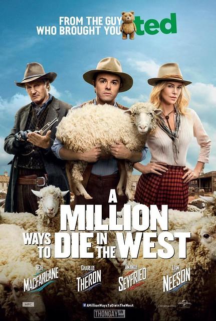 Phim Triệu Cách Chết Miền Viễn Tây - A Million Ways to Die in the West