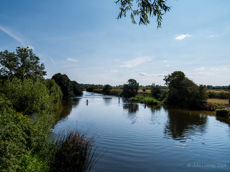 River Stour from Eye Bridge