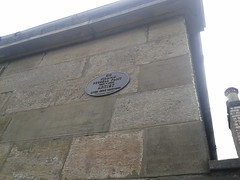 Photo of William Russell Flint black plaque