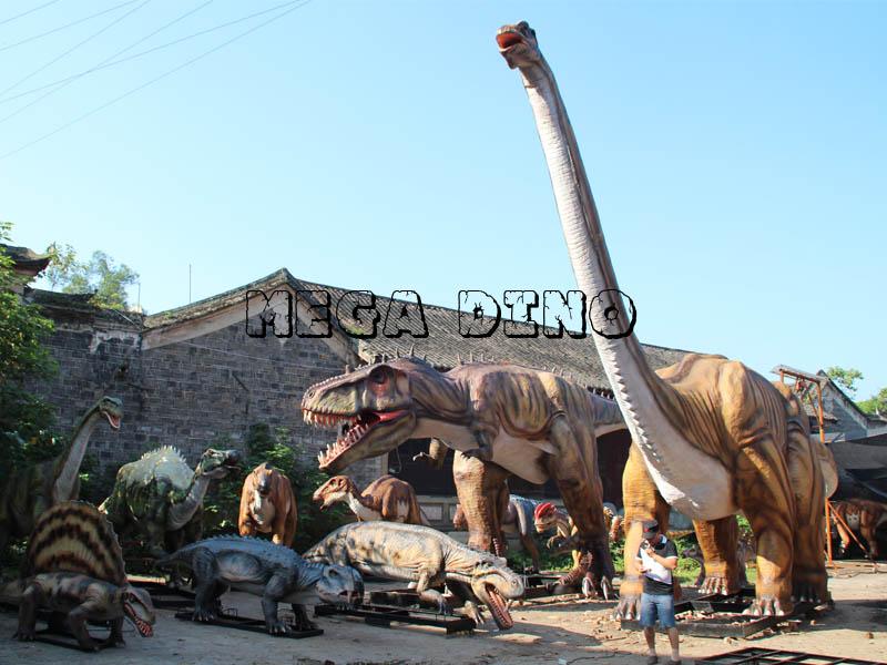 Customized Robotic Dinosaur Model