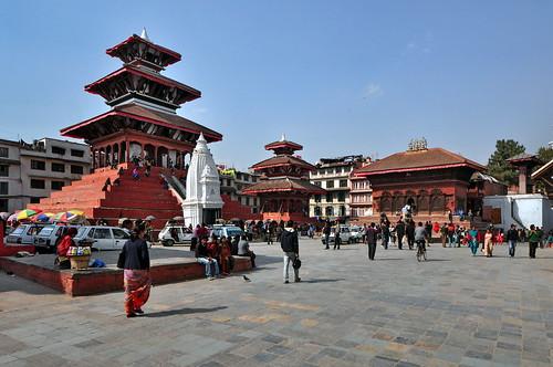Nepal - Kathmandu - Durbar Square - 45