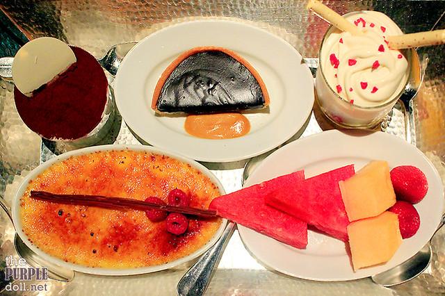 Mezza9 Macau Dessert Platter