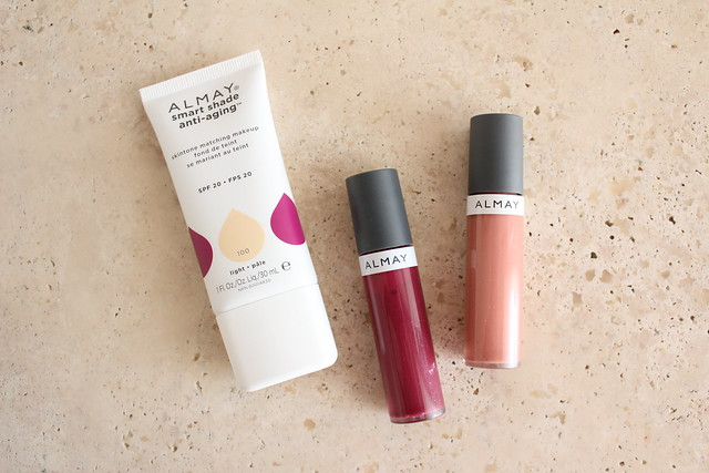 Almay smart shade anti-aging makeup review and swatch