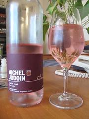 Michel Jodoin Cidre léger rosé