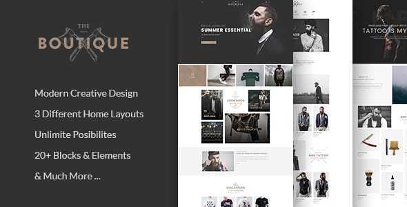 Boutique WordPress Theme free download