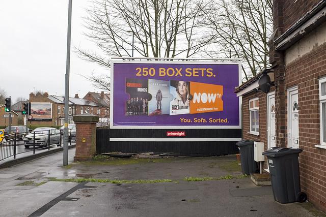 250 Box Sets, Stirchley DIY