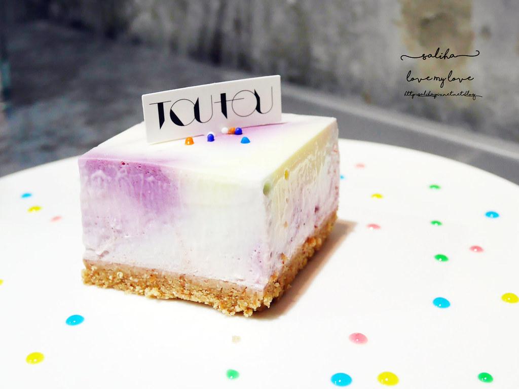 台中精誠二街偷偷 Toutou Cuisine夢幻甜點彩紅乳酪蛋糕推薦