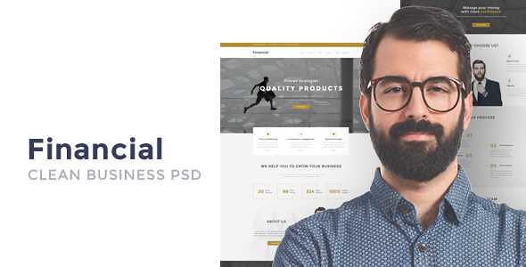 Financial WordPress Theme free download