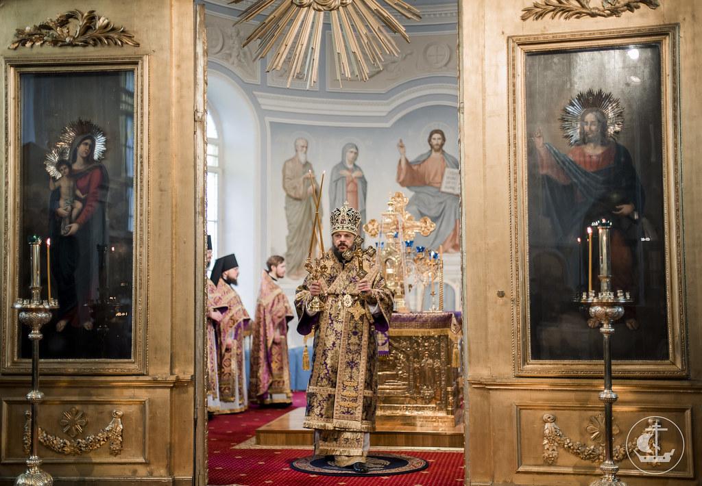 2 апреля 2017, Неделя 5-я Великого поста. Прп. Марии Египетской / 2 April 2017, Fifth Sunday of Great Lent. Commemoration of St. Mary of Egypt