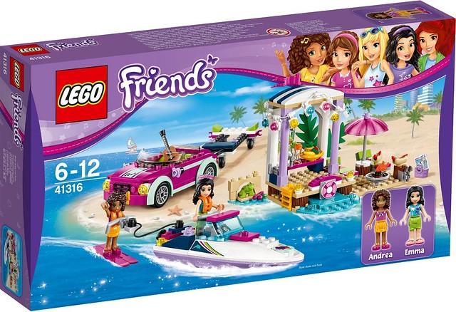 41316 Andrea's Speedboat Transporter 1