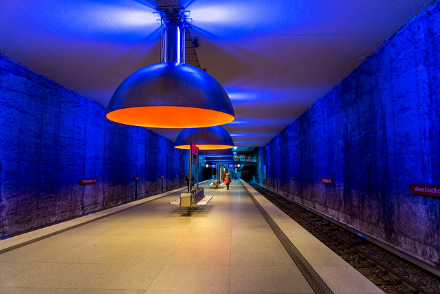 Station Westfriedhof: In Colour (1/2)