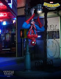 英雄下班後!Gentle Giant【蜘蛛人】1/8比例雕像作品