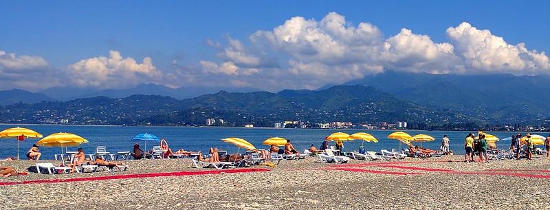 Stony Beach in Batumi