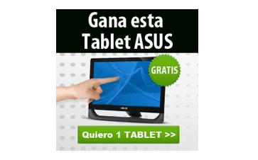 Gana tablet ASUS gratis, participa
