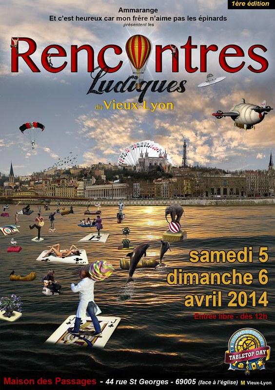 Les rencontres ludiques du Vieux Lyon