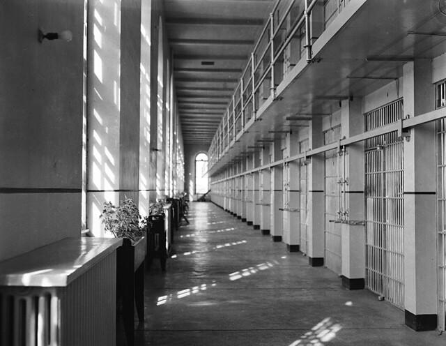 Prison for Women A-Block circa August 1958