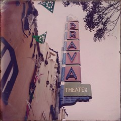 Old Brava Theater Signage, Mission District