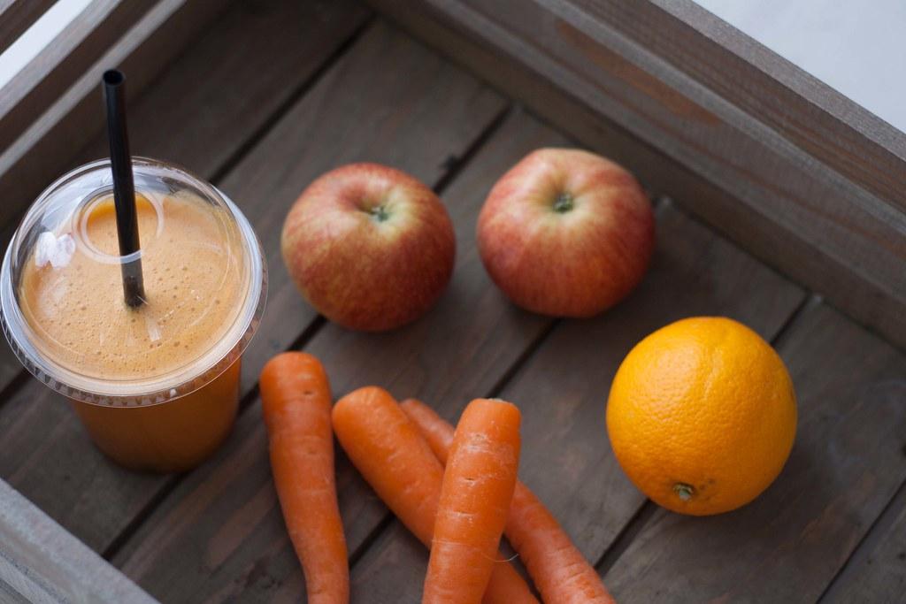 Gulerodsjuice med æble og appelsin (3)