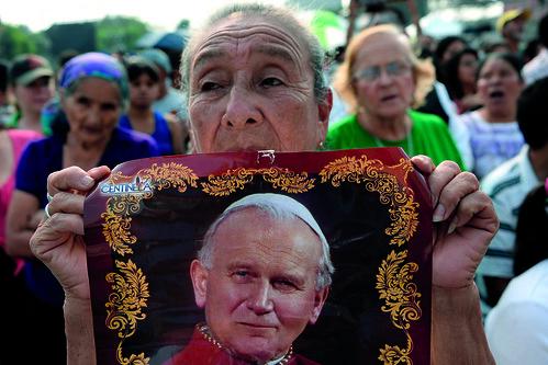 GUATEMALA-VATICAN-POPE-CANONISATION