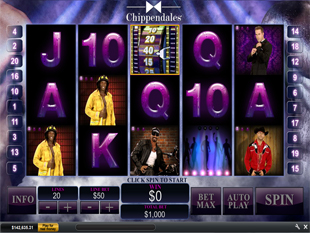 Chippendales slot game online review