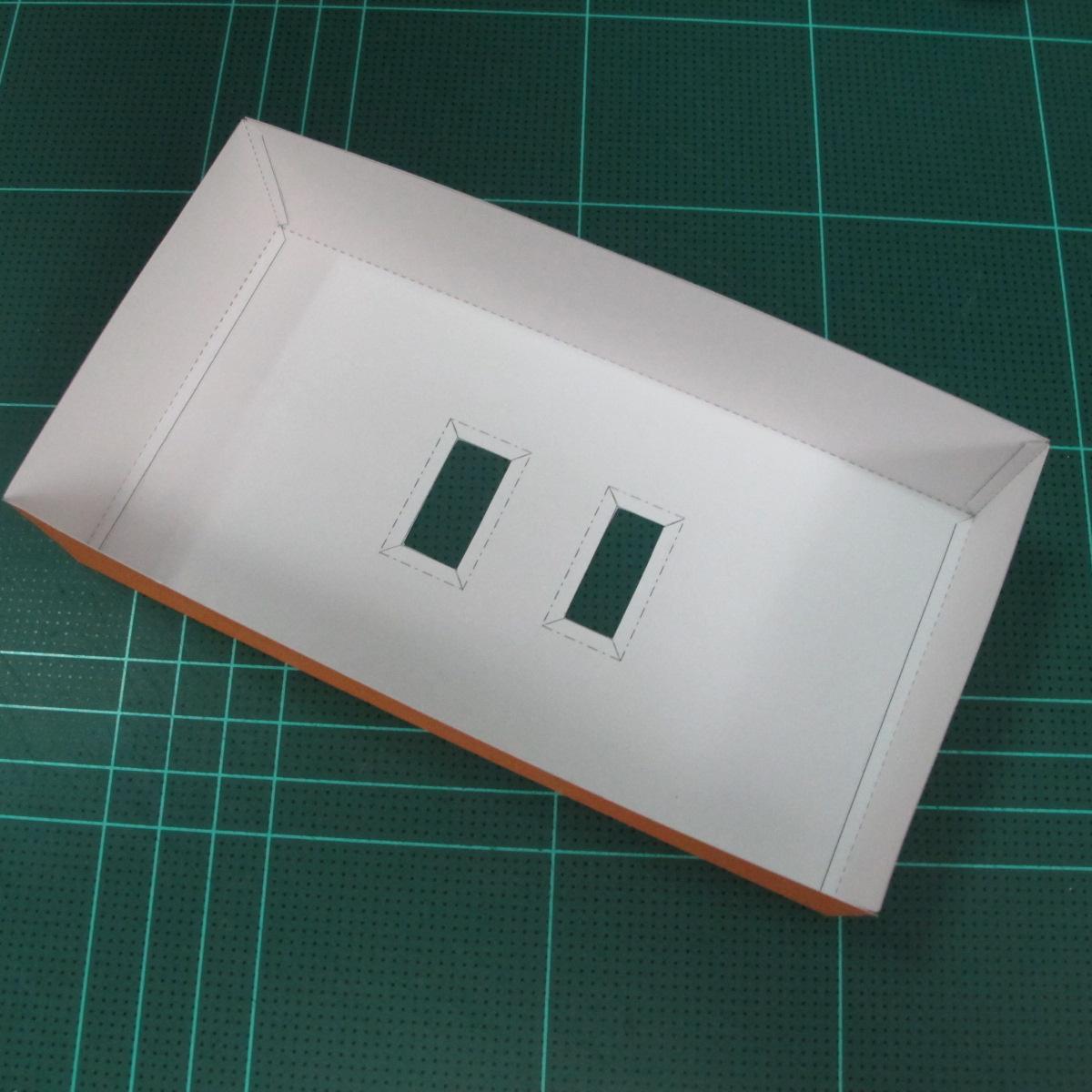 วิธีทำโมเดลกระดาษตุ้กตา คุกกี้ รัน คุกกี้รสซอมบี้ (LINE Cookie Run Zombie Cookie Papercraft Model) 027