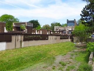 20150505 Charleroi, Dampremy (voormalige trambedding van lijn 41).