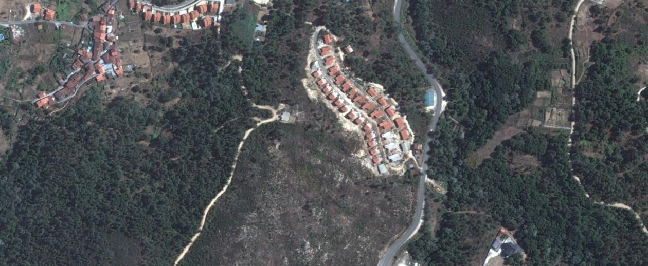 después, urbanismo, foto aérea,desastre, urbanístico, planeamiento, urbano, construcción,A Valenza, Ourense