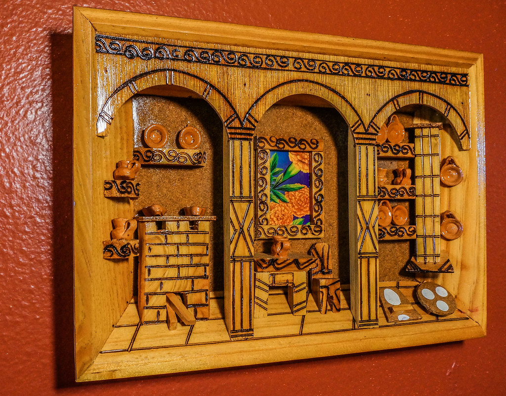 Wall Decor At The El Tapatio Mexican Restaurant Dsc0094 Flickr