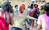 Playing Holi (3)